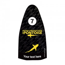Fins sticker : Pontoise below