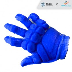 The T2 Underwater Hockey glove guarantees reinforced protection on the phalanges, grip feeling, comfort and robustness.