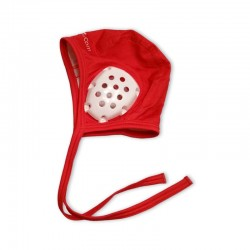 Red cap for underwater hockey referees
