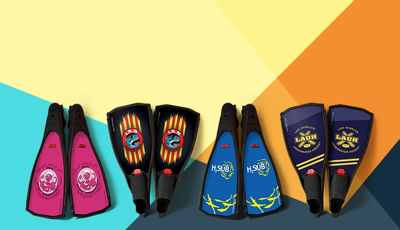 Discover our clubs fin stickers